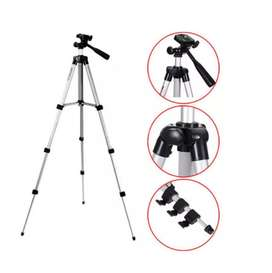 Trípode Soporte Para Celular-cámara 1,20cm + Soporte