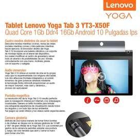 "TABLET LENOVO YOGA TAB 3 YT3-X50F (10"") USADA (UNICO DUEÑO)"
