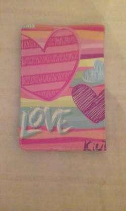 funda para tablet 7. color rosa. LOVE 0