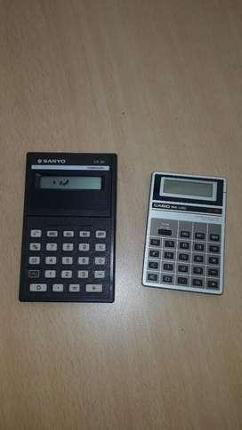 Calculadora(  cada una )