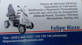 tecnico superior en vehiculos electricos