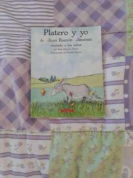 Libro platero y yo contado para los niños por Rosa Navarro Durán