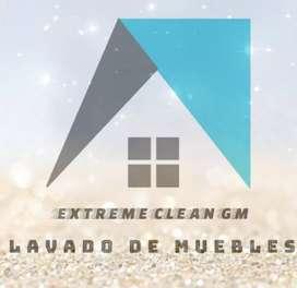 Lavado de muebles y desinfección de ambientes