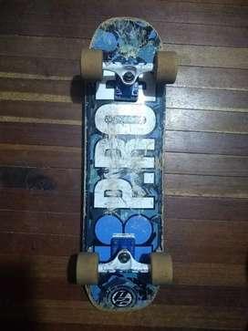 Cambio tabla skate Cruiser por fixie ( longboard )