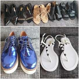 Vendo saldo de calzado para dama
