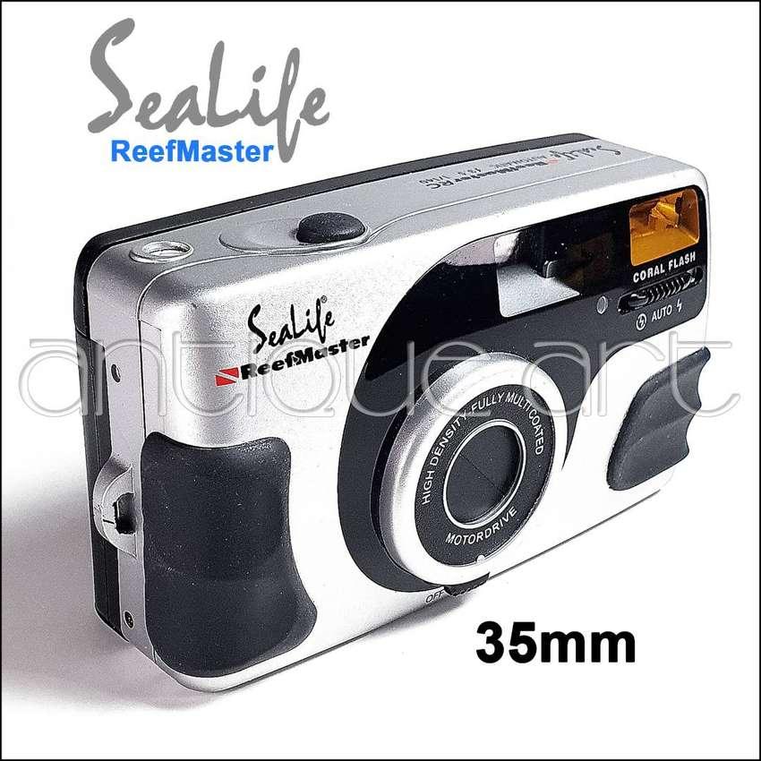 A64 Camara Sealife Reefmaster Pelicula Rollo 35mm Flash 0