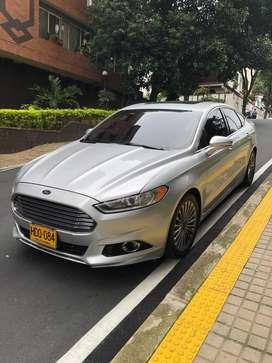 Ford Fusion 2014 Automatico-Turbo-full-Equipo-Gris-Plata