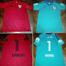 Camiseta Armani River Adultos Varios Mod
