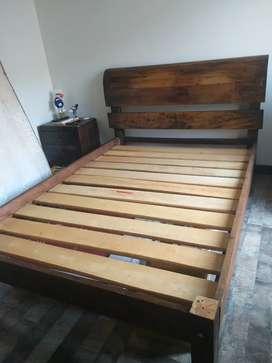Venta cama rustica - motivo viaje