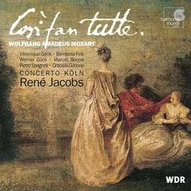 CDs- Wolfgang Amadeus Mozart: Così fan tutte - Concerto Köln & René Jacobs.