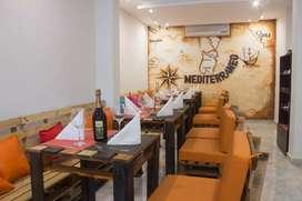 Restaurante con glamour
