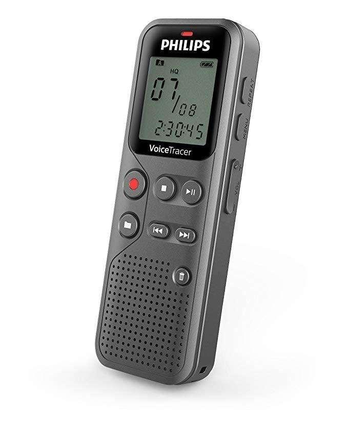Grabadora Voz Periodista Philips Original Dvt1110 Usb 4gb 0