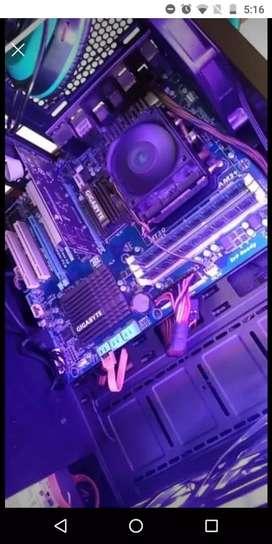 Combo board procesador ram y gráfica