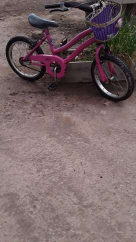 VENDO bicicleta rodado 16 en buen estado