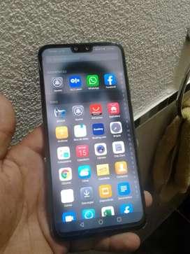 Huawei y9 2019 para claro. Impecable muy buen telefono