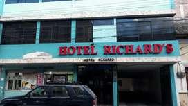 Vendo Hotel en el centro de Riobamba