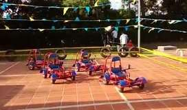 Fiesta para niños mario Go Kart, Pista de Carritos eventos infantiles