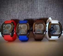 Reloj velocímetro tacometro moderno