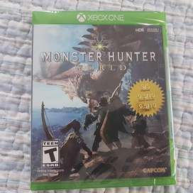 Monster Hunter World XBox One Nuevo Fisico y otros Oferta!!