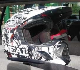 Casco bicicross BMX Pro Oneal serie 3 poco uso