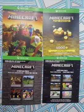 Vendo kit de Minecraft