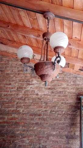 LAMPARAS DE TECHO DE METAL