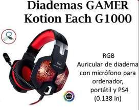Diademas Gamer Kotion Each G1000