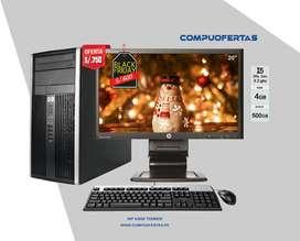 HP 6300 PRO  CORE I5 CON LED 20
