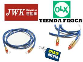 Cable Optico Fiber Para Audio 1.5 Mts Jwk Visión