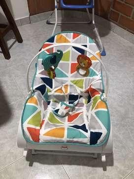 Vendo silla marca silla fisher price vibradora
