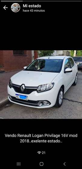 Vendo..Renault logan privilage