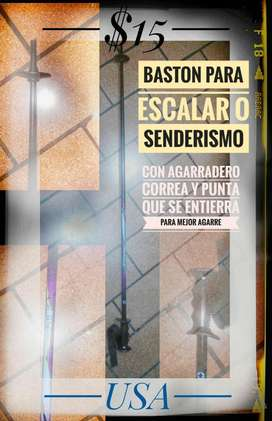 Baston Senderismo Escalar
