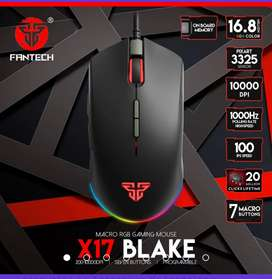 Mouse gamer programable luces Blake x17