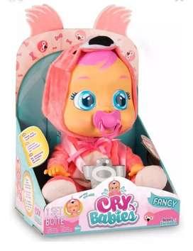 Hermosa muñeca Cry babies original