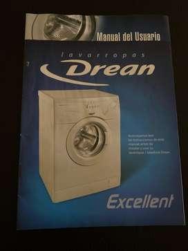 Lavarropas Drean Excellent