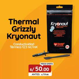 Pasta termica - Thermal Grizzly Kryonaut - PC/PS4/XBOX/GPU - La mejor pasta termica del mercado