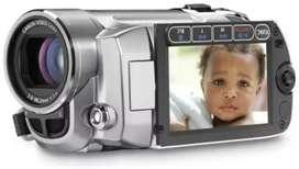 Filmadora a control Remoto CANON FS100, con entrada de micrifono externo 2000x zoom