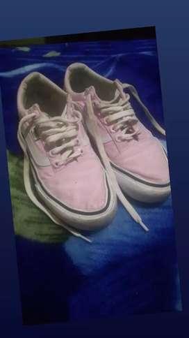 Zapatilla rosa