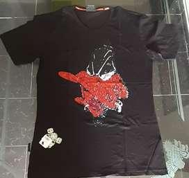 Camisetas con pedreria