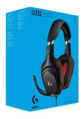 Audífonos Logitech G332 Nuevos