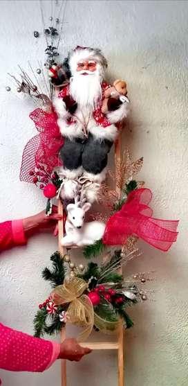 Decoración navideña hecha a mano