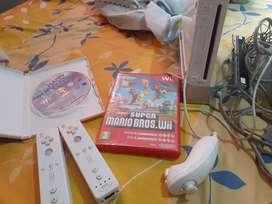 Se vende consola de Wii con 2 juegos