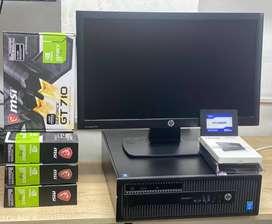 COMPUTADOR CORE I5 CUARTA-RAM 8GB+2GB FRAFICA+LCD20