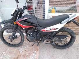 Moto Motomel Skua 200. Titular