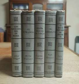 Libros antiguos pack x 5 (Imperdible)
