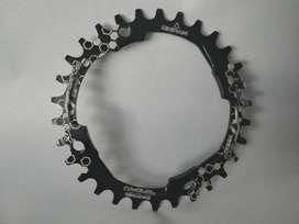 Coronilla o Plato de Bicicleta MTB DOWNHILL ENDURO / 30T 32T / 104 BCD