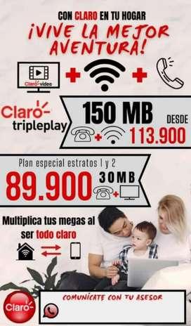 Internet claro hogar, movil y tv digital