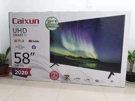Smart tv 58 pulgadas 4K UHD Marca CAIXUM