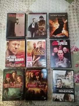 Peliculas y series en dvd originales.