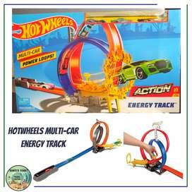 HOTWHEELS MULTI-CAR ENERGY TRACK